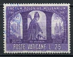 Vatican - Vatikanstadt 1966 Y&T N°452 - Michel N°503 (o) - 25l Saint Adalbert - Oblitérés