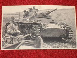 WW2. ALLEMAGNE. PHOTOGRAPHIE PANZERKAMPFWAGEN III AUSF. B - PANZER. - Dokumente