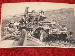 WW2. ALLEMAGNE. PHOTOGRAPHIE AUTOCHENILLE. OSTFRONT 1942 - Dokumente