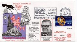 1984 - Strasbourg - Conseil De L'Europe - Parlement Européen - Mr Guldo FANTI Pdt Du Groupe Communiste Et Apparenté - Europese Instellingen