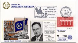 1984 - Strasbourg - Conseil De L'Europe - Parlement Européen - Mr Siegbert ALBER Vice Président Du Parlement Européen - Europese Instellingen