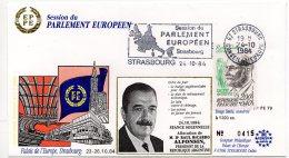 1984 - Strasbourg - Conseil De L'Europe - Parlement Européen - Allocution De Mr Raul Ricardo ALFONSIN Pdt D'Argentine - Europese Instellingen