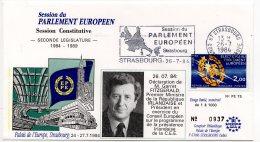 1984 - Strasbourg - Conseil De L'Europe - Parlement Européen - Mr Garret FITZGERALD Premier Ministre D'Irlande - Europese Instellingen