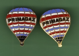 MONTGOLFIERE *** GROUPE PRIMAGAZ *** N°8 *** Lot De 2 Pin's Differents *** A045 - Airships