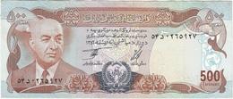 Afganistán - Afghanistan 500 Afghanis 1977 Pick 52a Ref 580-2 - Afghanistán