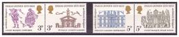 GRAN BRETAGNA - 1973 - 4° CENTENARIO DELLA NASCITA DI INIGO JONES. SERIE COMPLETA - MNH** - 1952-.... (Elizabeth II)