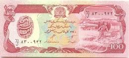 Afganistán - Afghanistan 100 Afghanis 1990 Pick 58b UNC - Afghanistan