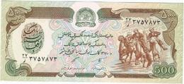 Afganistán - Afghanistan 500 Afghanis 1991 Pick 60c UNC Ref 583-1 - Afghanistán