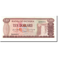 Billet, Guyana, 10 Dollars, Undated (1966-92), KM:23d, NEUF - Guyana
