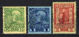AUSTRIA - UFFICI DEL LEVANTE - 1908 - EFFIGIE DELL'IMPERATORE FRANCESCO GIUSEPPE I - USATO - Oriente Austriaco