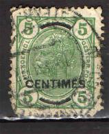 AUSTRIA - UFFICI A CRETA - 1906 - 5 CENTIMES SU 5 - USATO - Oriente Austriaco
