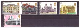 GRAN BRETAGNA - 1975 - ANNO EUROPEO PER LA DIFESA DEL PATRIMONIO ARCHITETTONICO. SERIE COMPLETA - MNH** - 1952-.... (Elizabeth II)