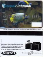 AUSTRALIA - Fish, Global Financial, Multos Test Card - Geldkarten (Ablauf Min. 10 Jahre)