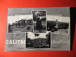 CARTOLINA  CALITRI   (AVELLINO)    VEDUTINE   ANIMATA   B-  177 - Avellino