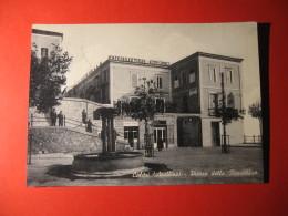 CARTOLINA  CALITRI   (AVELLINO)   PIAZZA DELLA REPUBBLICA   ANIMATA     B-  201 - Avellino