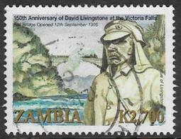 Zambia SG1010 2006 Victoria Falls 2700k Good/fine Used [37/30784/2D] - Zambia (1965-...)