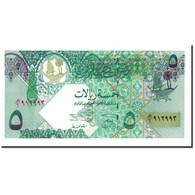 Billet, Qatar, 5 Riyals, 2003, KM:21, NEUF - Qatar