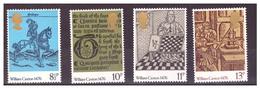 GRAN BRETAGNA - 1976 - 5° CENTENARIO DELLA STAMPA IN GRAN BRETAGNA INTRODOTTA DA WILLIAM CAXTON. SERIE COMPLETA - MNH** - 1952-.... (Elizabeth II)