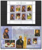 Congo 2006 Art Paintings Paul Cezanne Sheet Of 6 + S/S  MNH** - Art