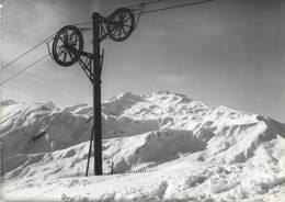 """CPSM FRANCE 73 """"Station De La Toussuire, Le Téléski Du Grand Tru"""" - Autres Communes"""