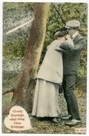 COMIC : COUPLES - J. WELCH & SONS : CLOUDY MORNINGS.../ POSTMARK - KEMNAY / ADDRESS - LUMPHANAN - Comics