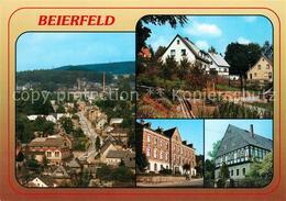 73230483 Beierfeld Spiegelwald Rathaus Pfarrhaus Panorama Beierfeld - Gruenhain