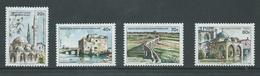 Turkish Cyprus 1977 Architecture / Bulidings Set 4 MNH - Unused Stamps