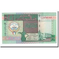 Billet, Kuwait, 1/2 Dinar, L.1968, 1994, KM:24a, NEUF - Koweït