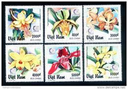 Vietnam Viet Nam MNH Perf Stamps 1995 : Orchid / Orchids (Ms717) - Vietnam