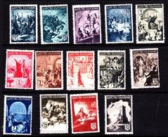 Bulgaria SG 513-526 1942 Historical Series, Mint Never Hinged - 1909-45 Kingdom