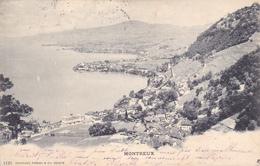 SUISSE,SWITZERLAND,SVIZZERA,SCHWEIZ,HELVETIA,SWISS ,VAUD,MONTREUX,en 1900,timbre De Collection - VD Vaud