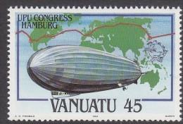 VANUATU, 1984 FLIGHT O/PRINT UPU MNH - Vanuatu (1980-...)