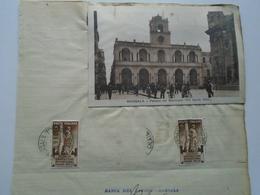 AV413.3  Italia Sicilia -MARSALA  - Trapani -  1933  Signature Autograph - Autographes