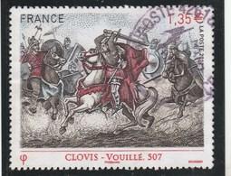 FRANCE 2012 ISSU DU BLOC LES GRANDES HEURES DE L HISTOIRE CLOVIS YT 4705 OBLITERE -                               Tda268 - Oblitérés