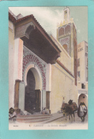 Old Small Postcard Of La Grande Mosquee,Tangier, Tanger, MoroccoR55. - Tanger