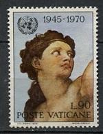 Vatican - Vatikanstadt 1970 Y&T N°511 - Michel N°570 Nsg - 90l Tête D'Eve - Oblitérés