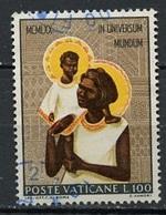 Vatican - Vatikanstadt 1970 Y&T N°515 - Michel N°574 (o) - 100l Vierge à L'enfant - Oblitérés