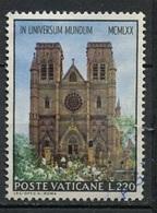 Vatican - Vatikanstadt 1970 Y&T N°517 - Michel N°576 (o) - 270l Cathédrale De Sydney - Oblitérés