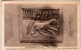 6DS 1O24 CPA - LOUVECIENNES - PLAQUE ANCIENNE - Louveciennes