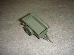 Remorque Militaire En Tole Pas De Marque - Toy Memorabilia
