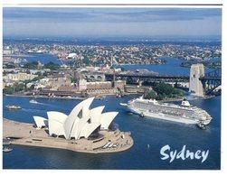 (333) Australia - NSW - Sydeny And Cruise Ship Crystal Harmony - Sydney