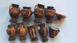 FEVE Série Complète 10 Pots Grecs - History