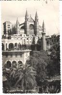 POSTAL   PALMA DE MALLORCA  -ISLAS BALEARES  - LA CATEDRAL - España