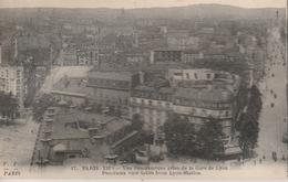 18 / 5 / 320  - PARIS  ( 12è ) -  Vue  Panoramique Prise  De  La  Gare  De  Lyon - District 12