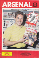 Voetbal - Programmaboekje  Arsenal – Watford - 11 Oktober 1986 – Highbury Londen - Programme