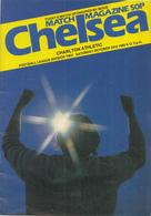Voetbal - Programmaboekje  Chelsea – Charlton Athletic - 23 Oktober 1982 – Stamford Brdige Londen - Programma's