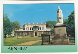 Arnhem - Bronbeek: Standbeeld Willem II 'Held Van Quatre Bras, Waterloo, Hasselt En Leuven' - Tehuis Voor Oud-militairen - Arnhem