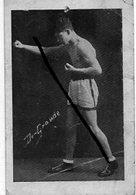 """BOXE       """" CARTE  PHOTO -    DE- GRANDE                    ( état ) - Boxing"""