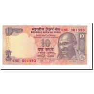 Billet, Inde, 10 Rupees, 1996, KM:89a, SUP - Inde