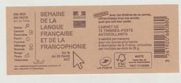 France Carnet N° 1214-C7 Neuf, Semaine De La Langue Française - Carnets